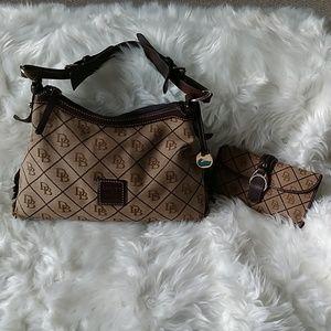 Dooney & Bourke purse with matching wallet
